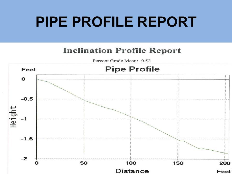 PIPE PROFILE REPORT