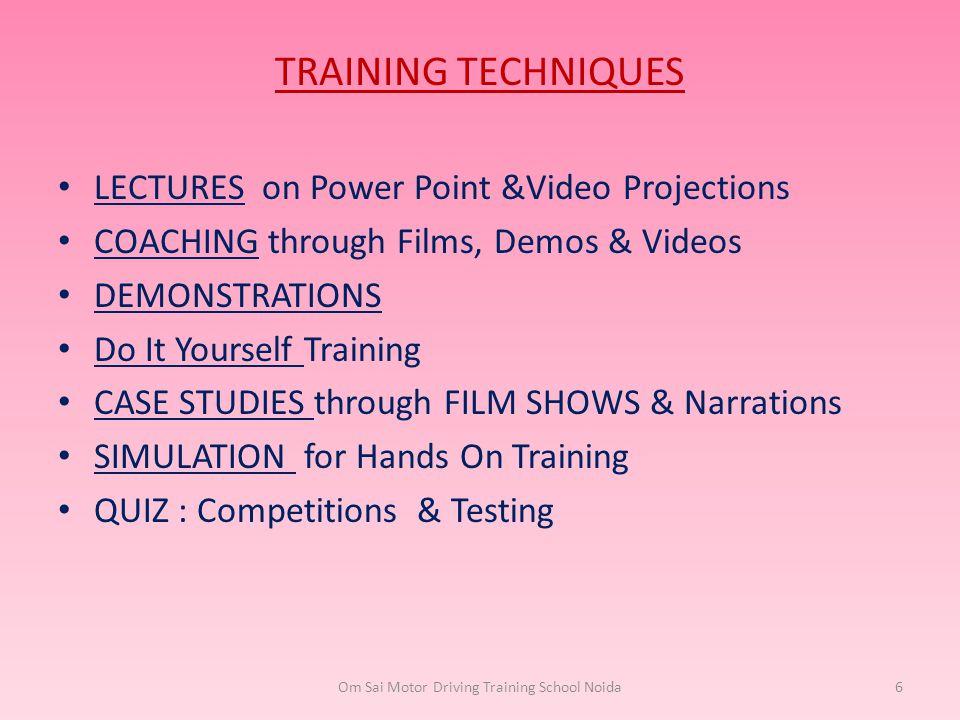 Om Sai Motor Driving Training School Noida