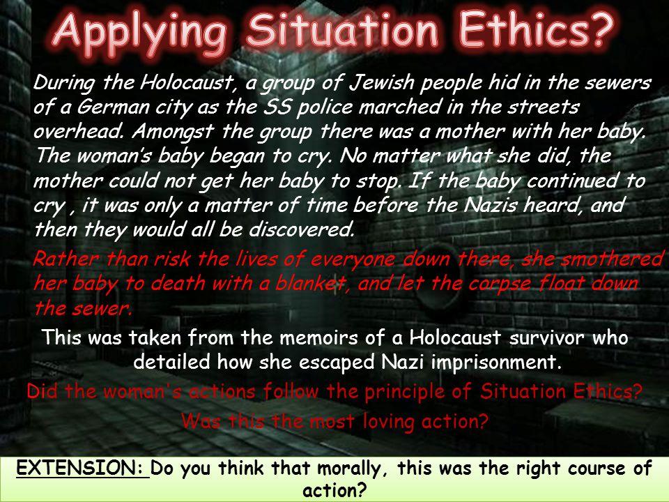 Applying Situation Ethics