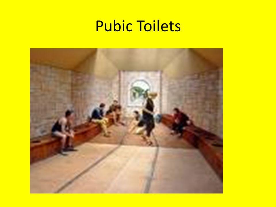 Pubic Toilets