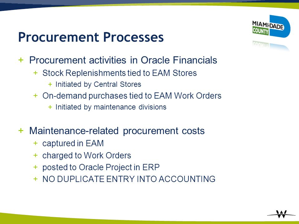 Procurement Processes
