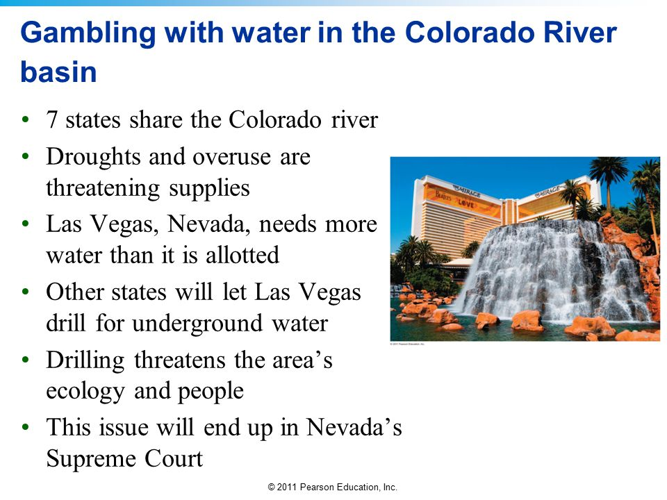 Gambling with water in the Colorado River basin