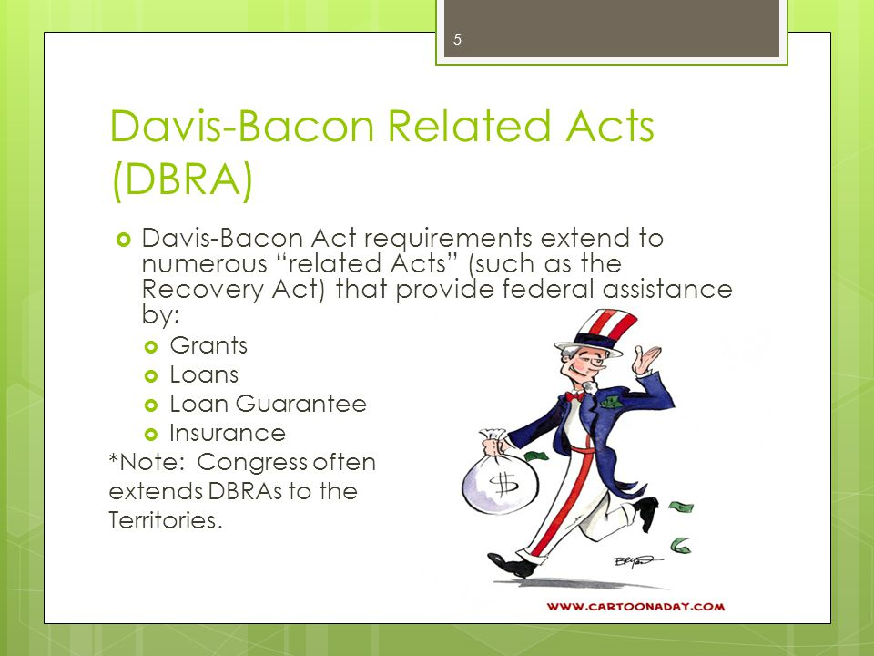 Davis-Bacon Related Acts (DBRA)