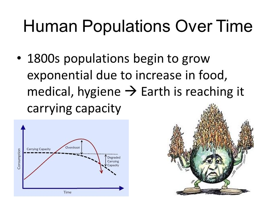 Human Populations Over Time