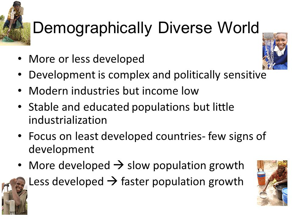 Demographically Diverse World