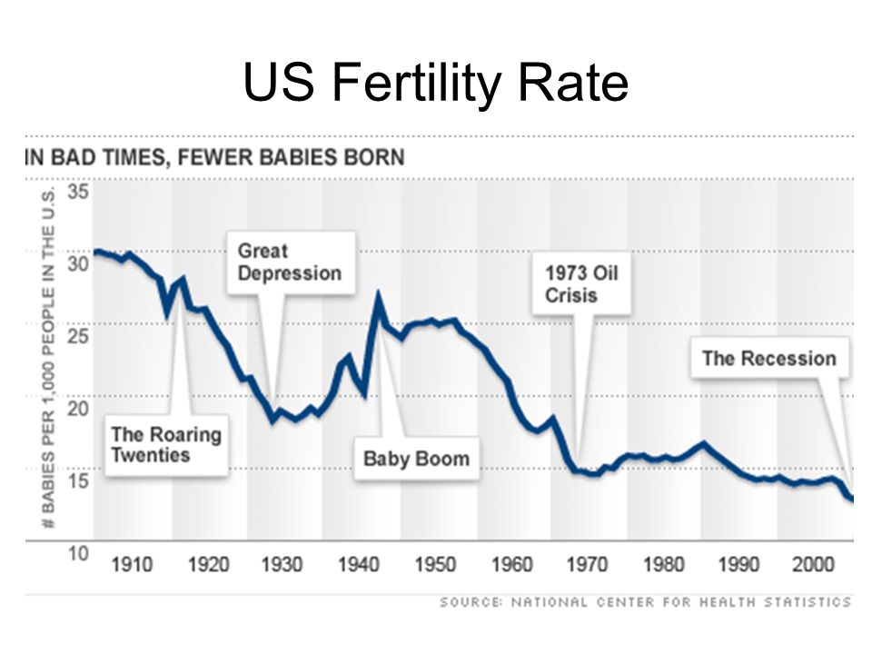 US Fertility Rate