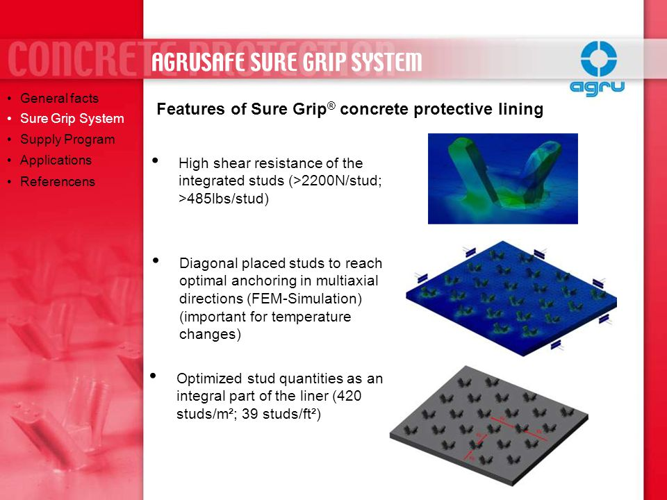 AGRUSAFE SURE GRIP SYSTEM