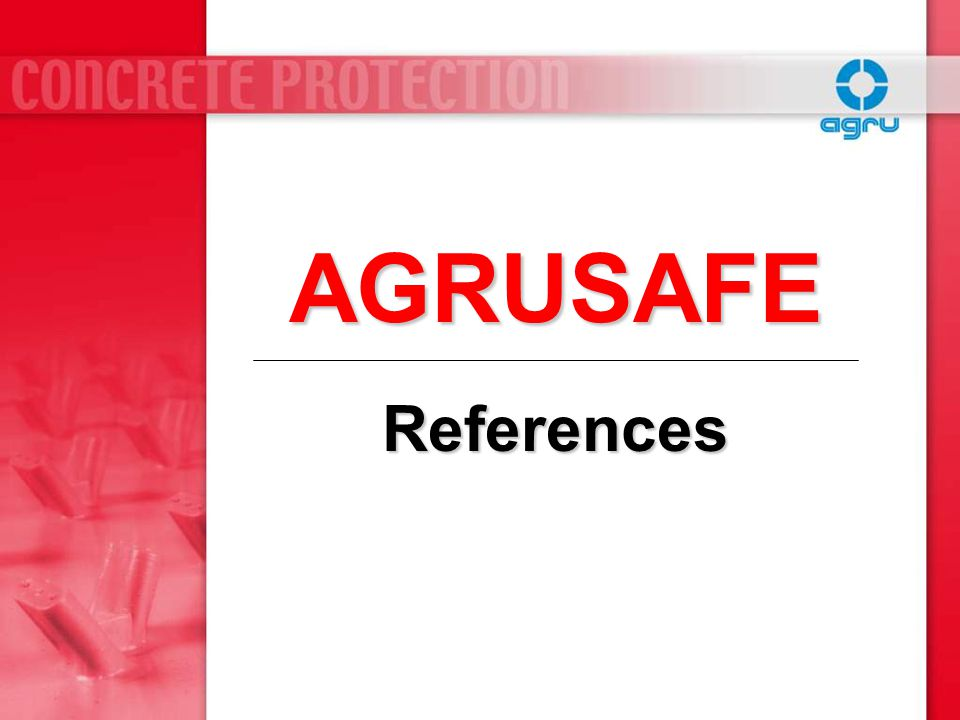 AGRUSAFE References