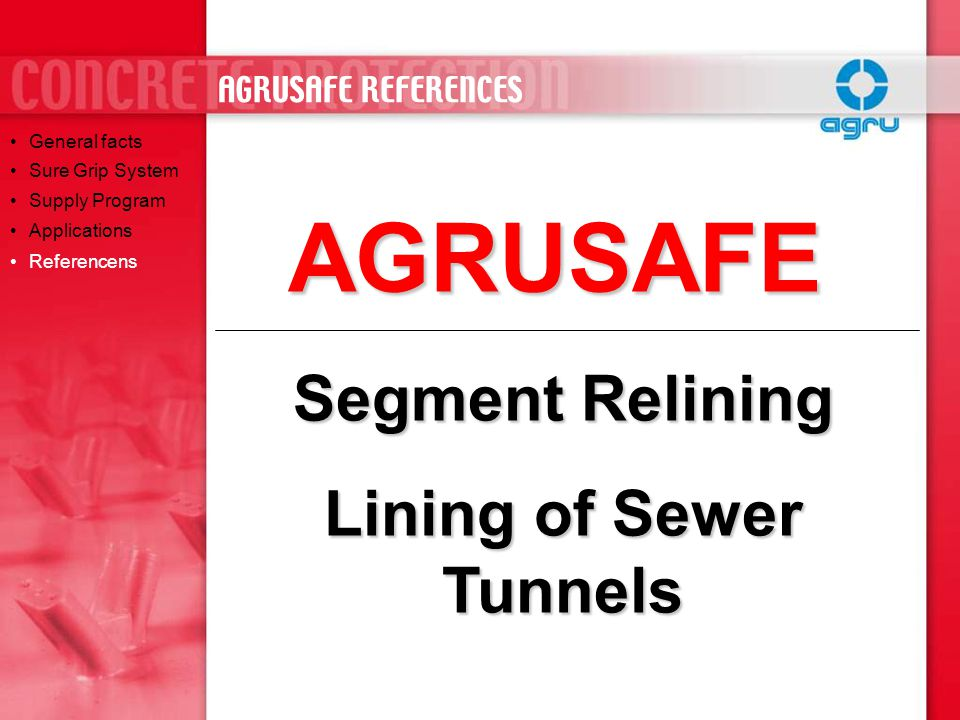 Lining of Sewer Tunnels
