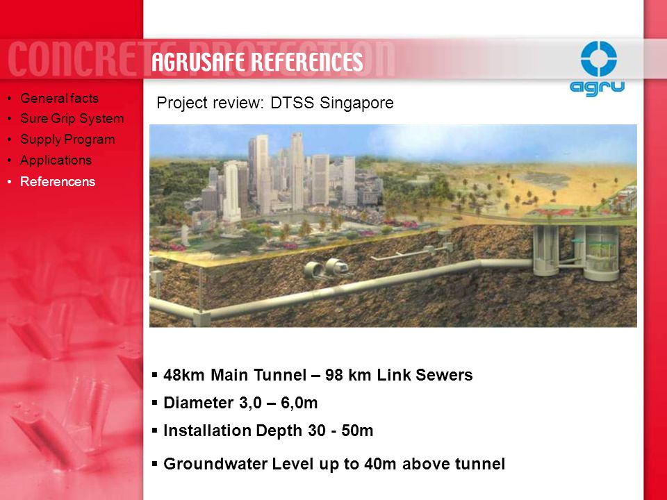 AGRUSAFE REFERENCES Project review: DTSS Singapore