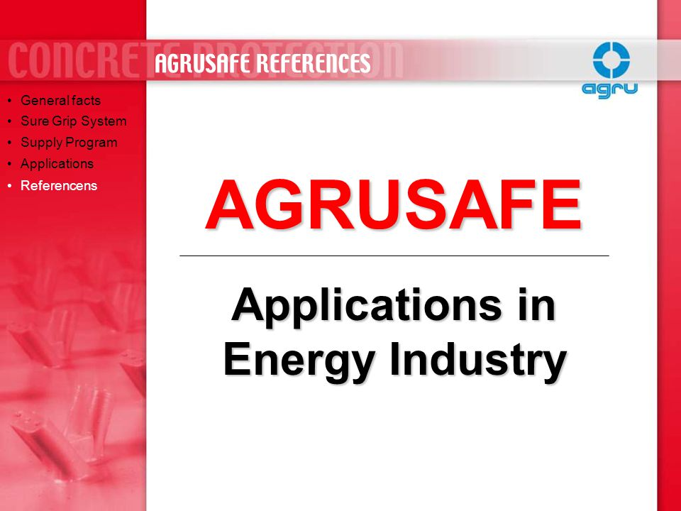 Applications in Energy Industry