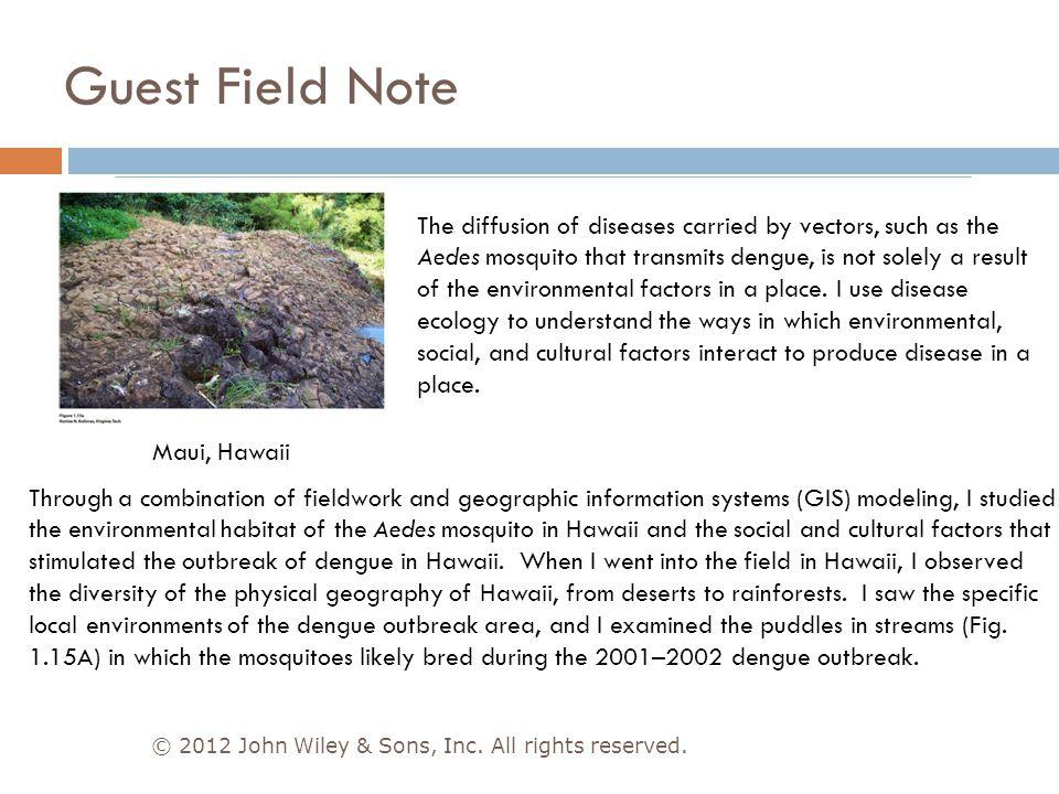 Guest Field Note