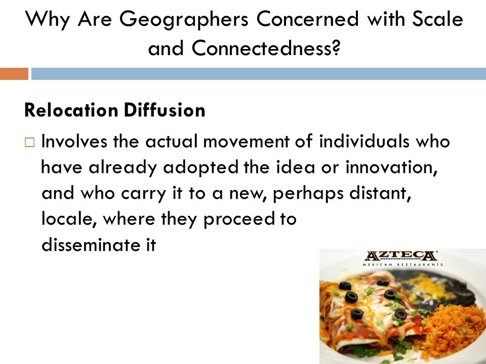 Why Are Geographers Concerned with Scale and Connectedness