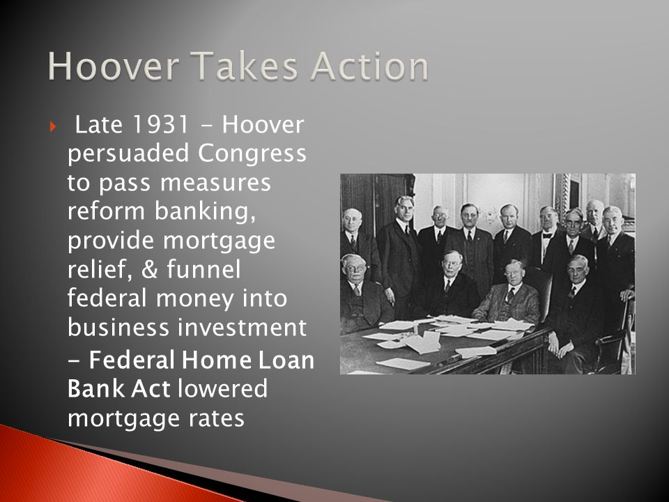 Hoover Takes Action
