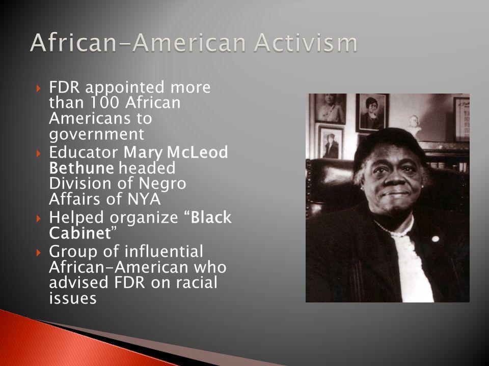 African-American Activism