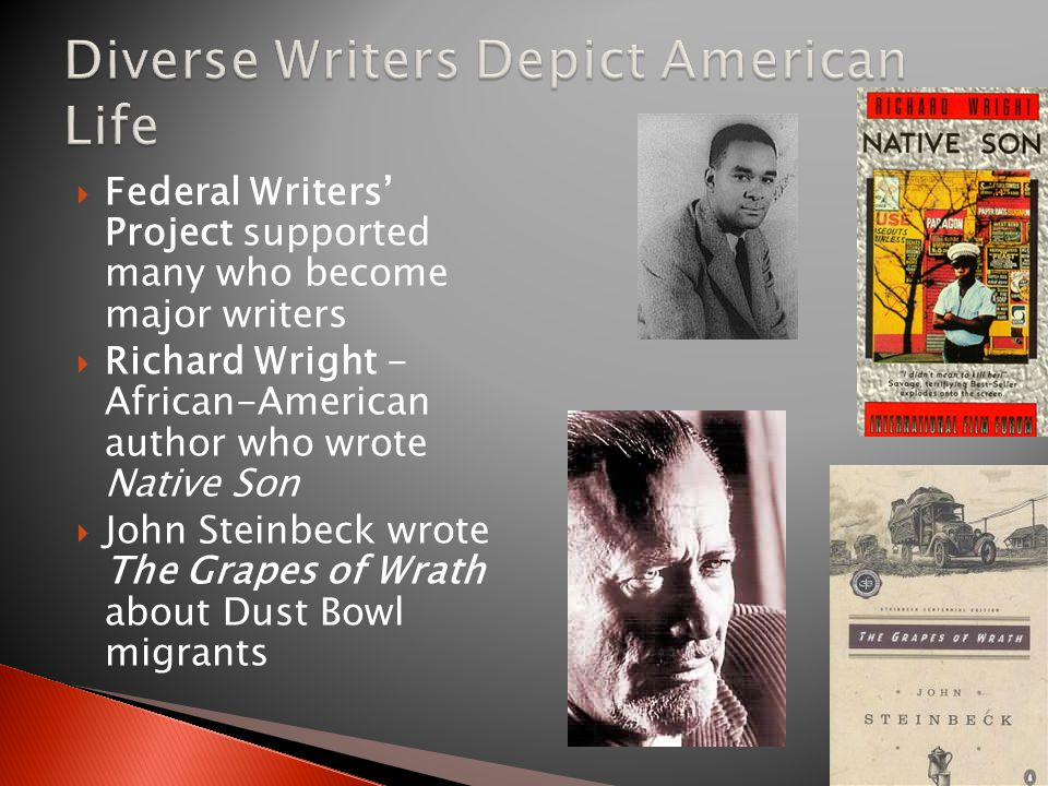 Diverse Writers Depict American Life