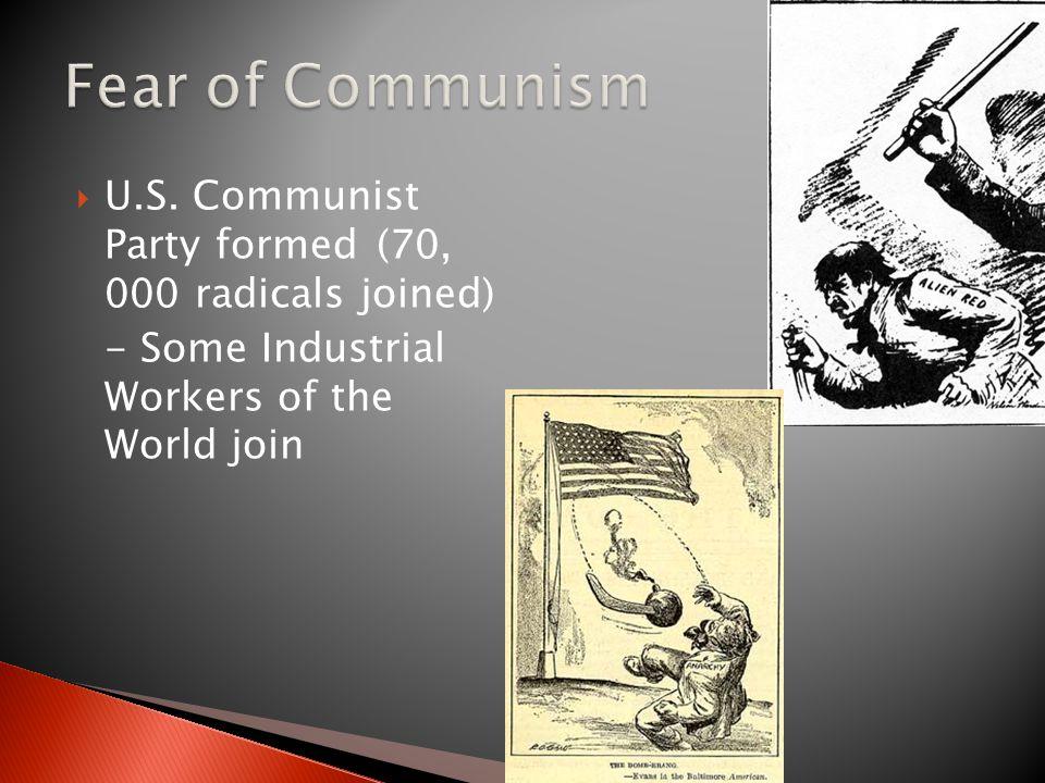 Fear of Communism U.S.
