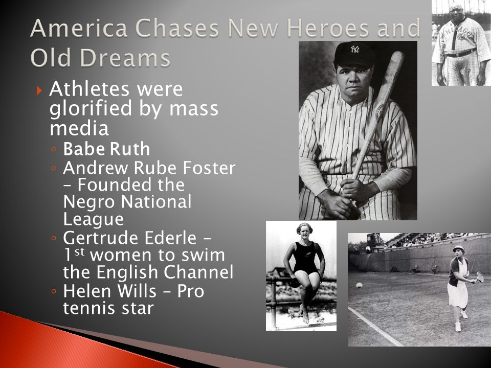 America Chases New Heroes and Old Dreams