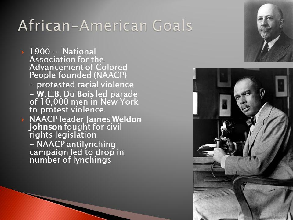 African-American Goals