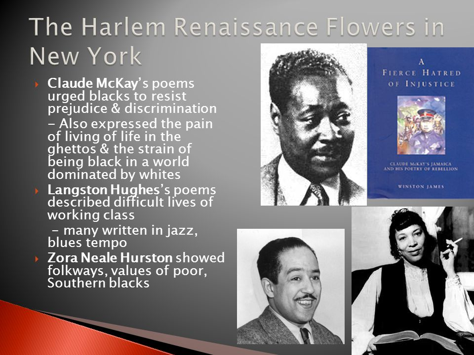 The Harlem Renaissance Flowers in New York
