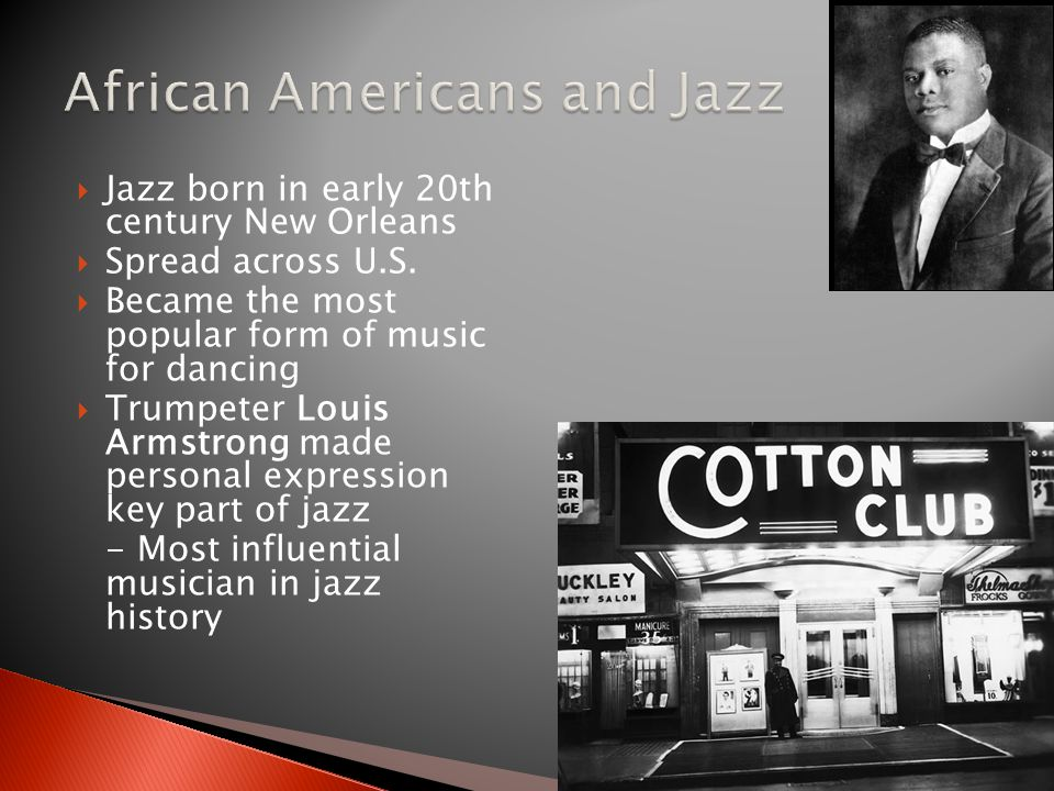 African Americans and Jazz