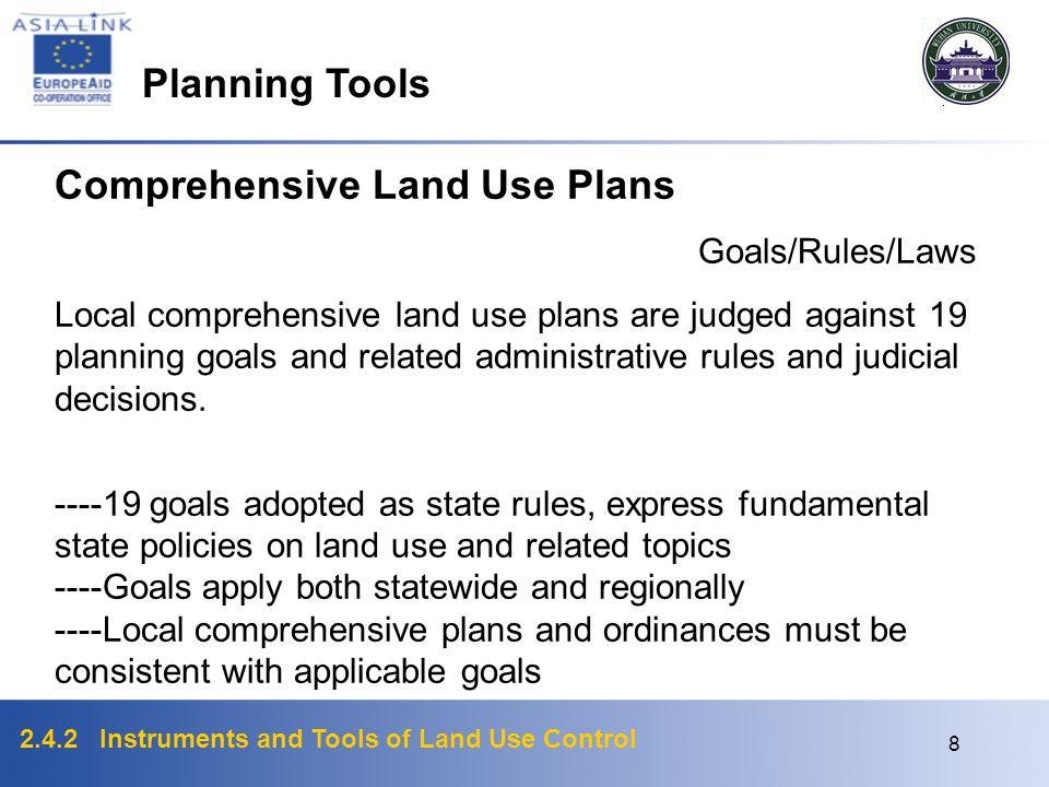 Comprehensive Land Use Plans
