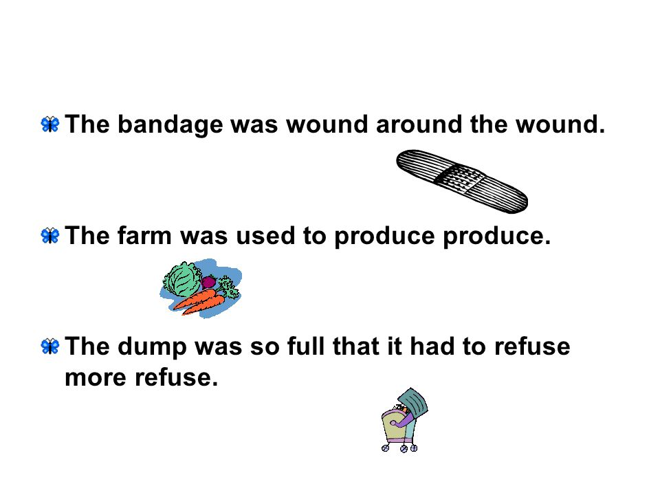 The bandage was wound around the wound.