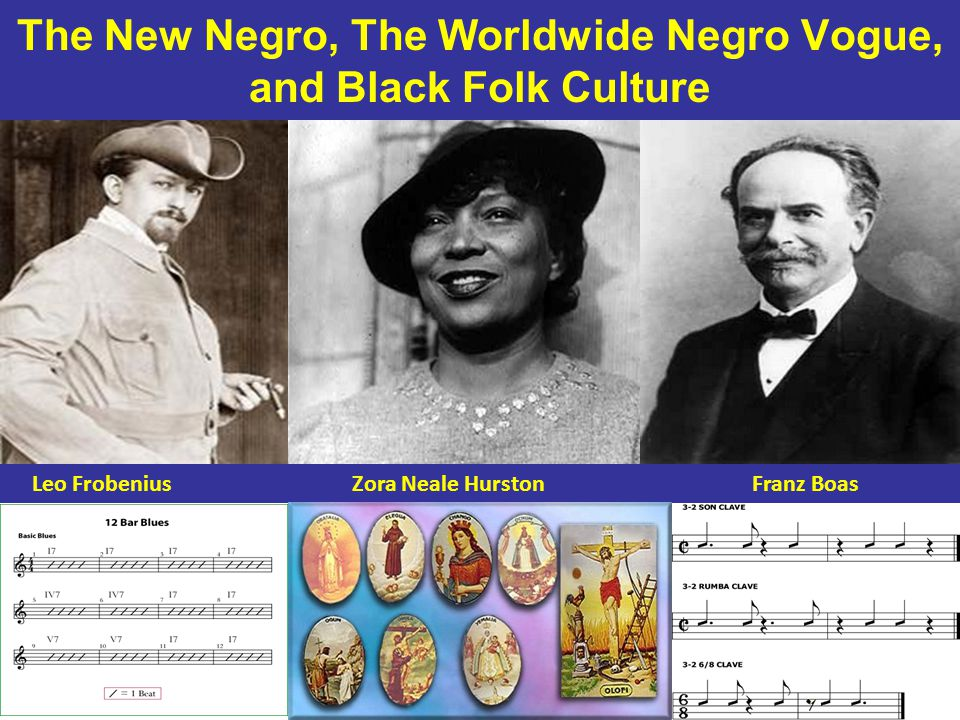 The New Negro, The Worldwide Negro Vogue, and Black Folk Culture