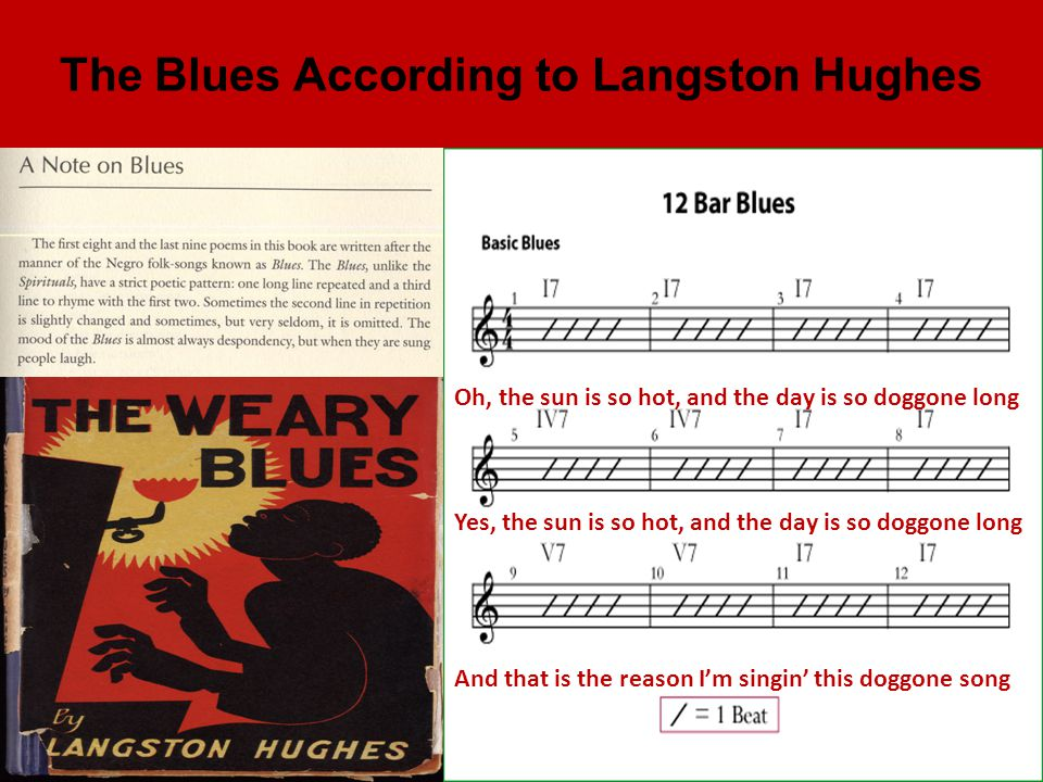 The Blues According to Langston Hughes