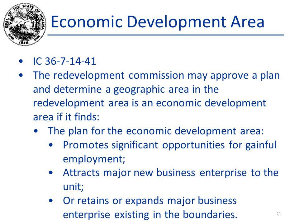 Economic Development Area