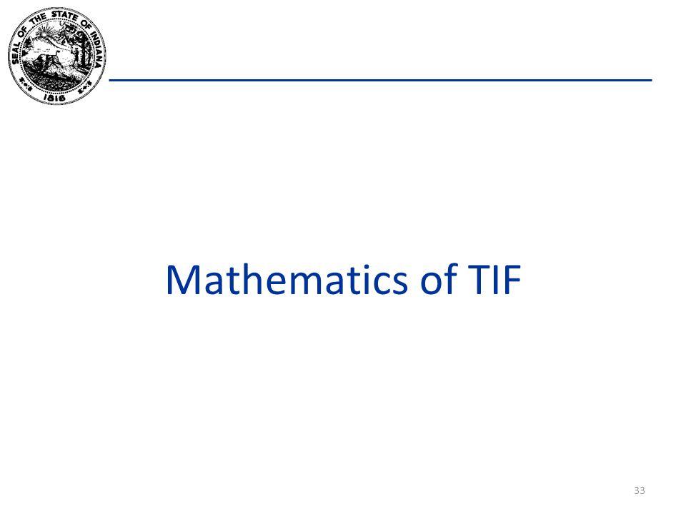 Mathematics of TIF