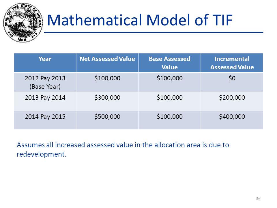 Mathematical Model of TIF