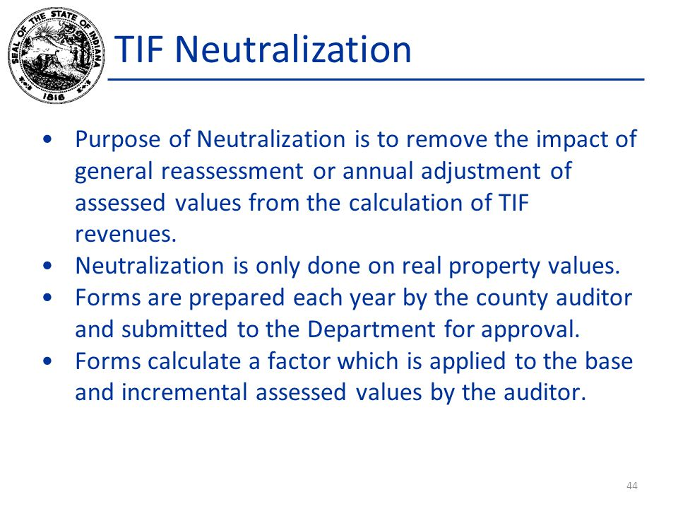 TIF Neutralization