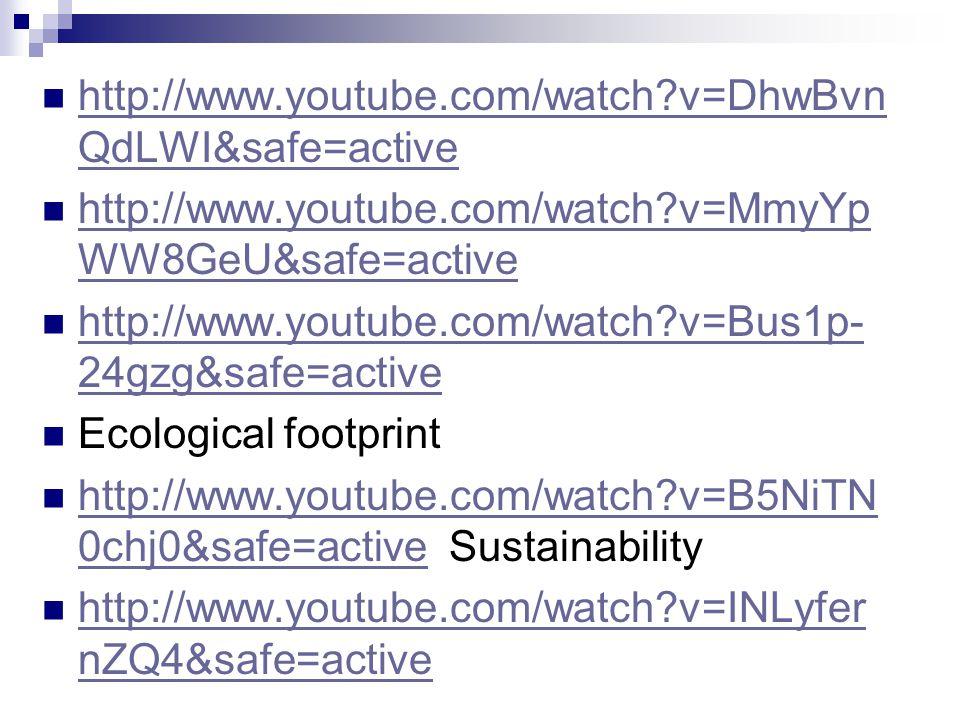 http://www.youtube.com/watch v=DhwBvnQdLWI&safe=active http://www.youtube.com/watch v=MmyYpWW8GeU&safe=active.