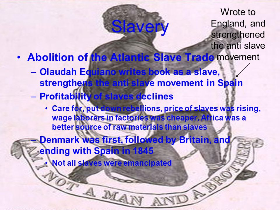 Wrote to England, and strengthened the anti slave movement