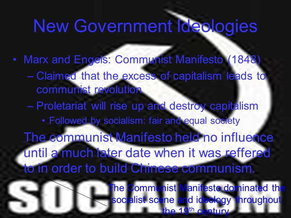 New Government Ideologies