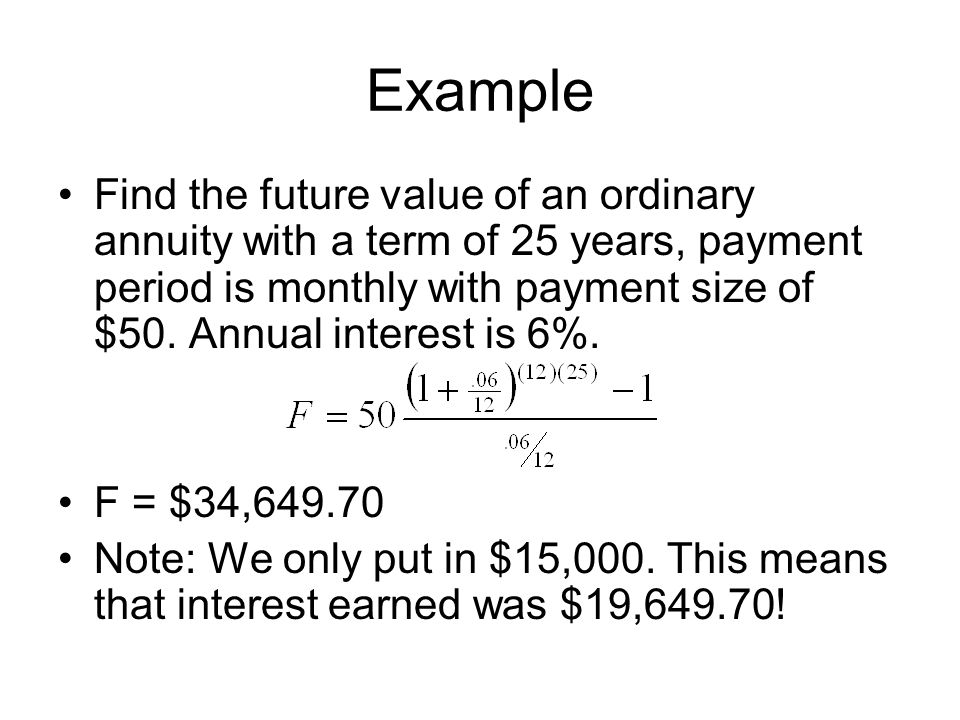 annuities section ppt video online download