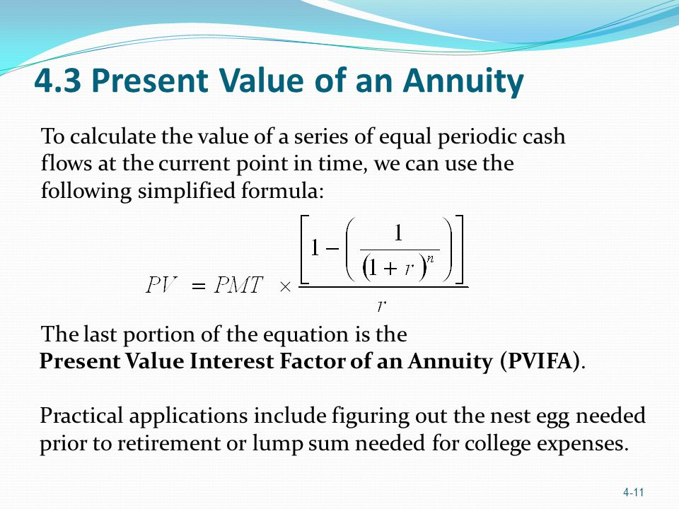 present value annuity calculator with inflation and lifetime