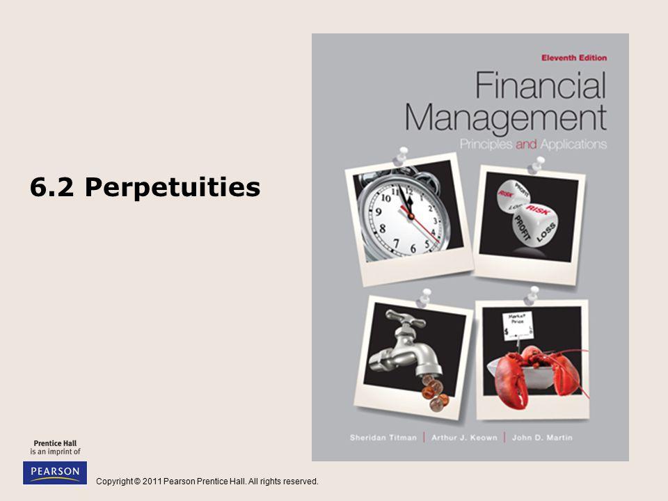 6.2 Perpetuities