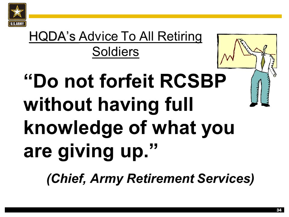 HQDA's Advice To All Retiring Soldiers