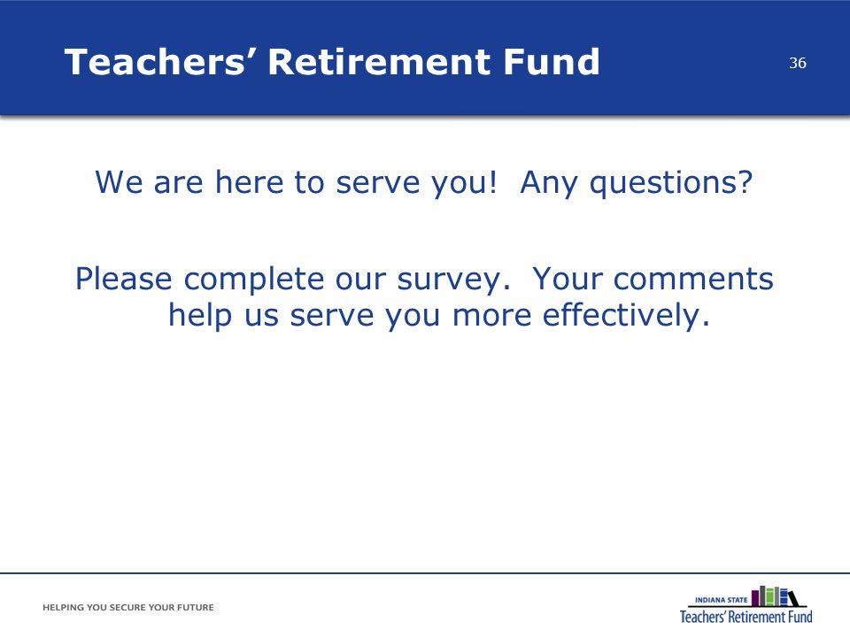 Teachers' Retirement Fund