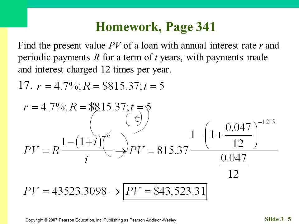 Homework, Page 341