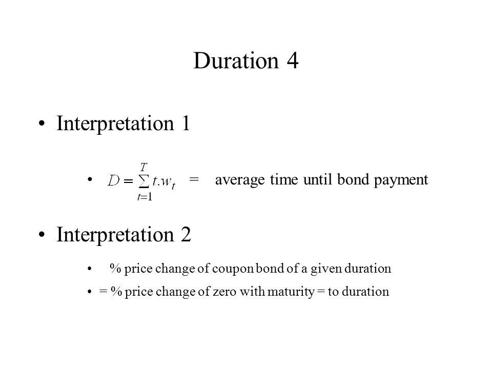 Duration 4 Interpretation 1 Interpretation 2