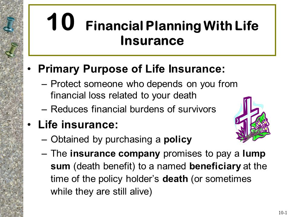 10 Financial Planning With Life Insurance