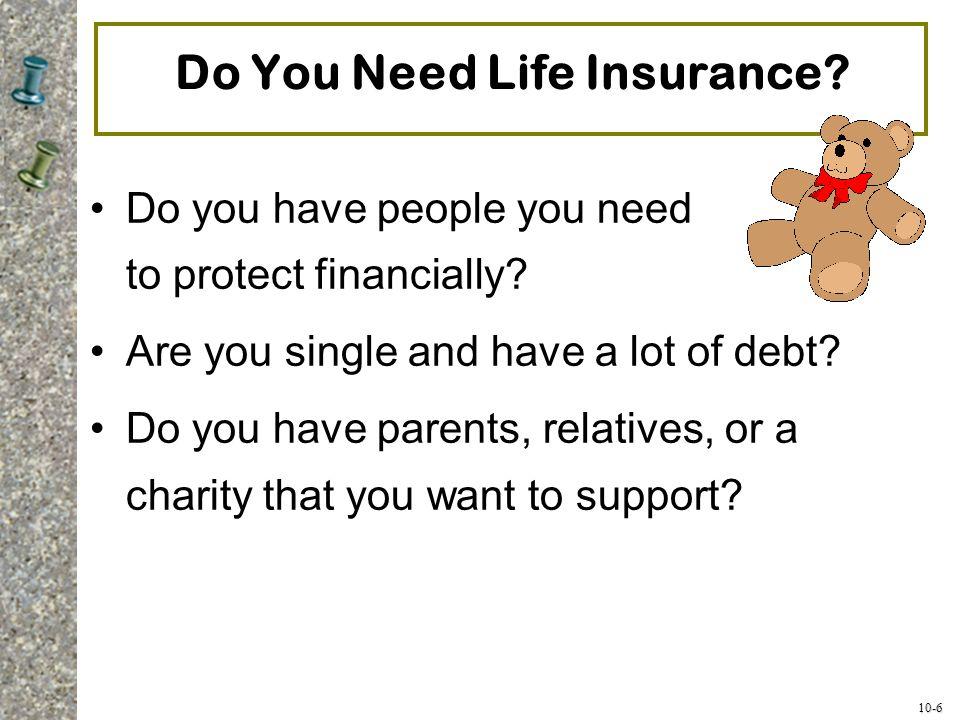 Do You Need Life Insurance