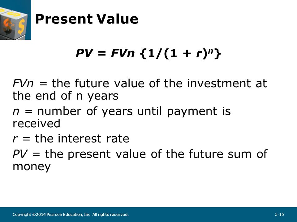PV example What will be the present value of $500 to be received 10 years from today if the discount rate is 6%