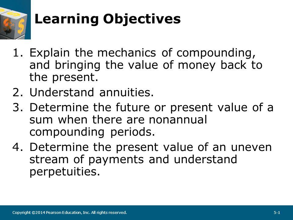 COMPOUND INTEREST, FUTURE, AND PRESENT VALUE