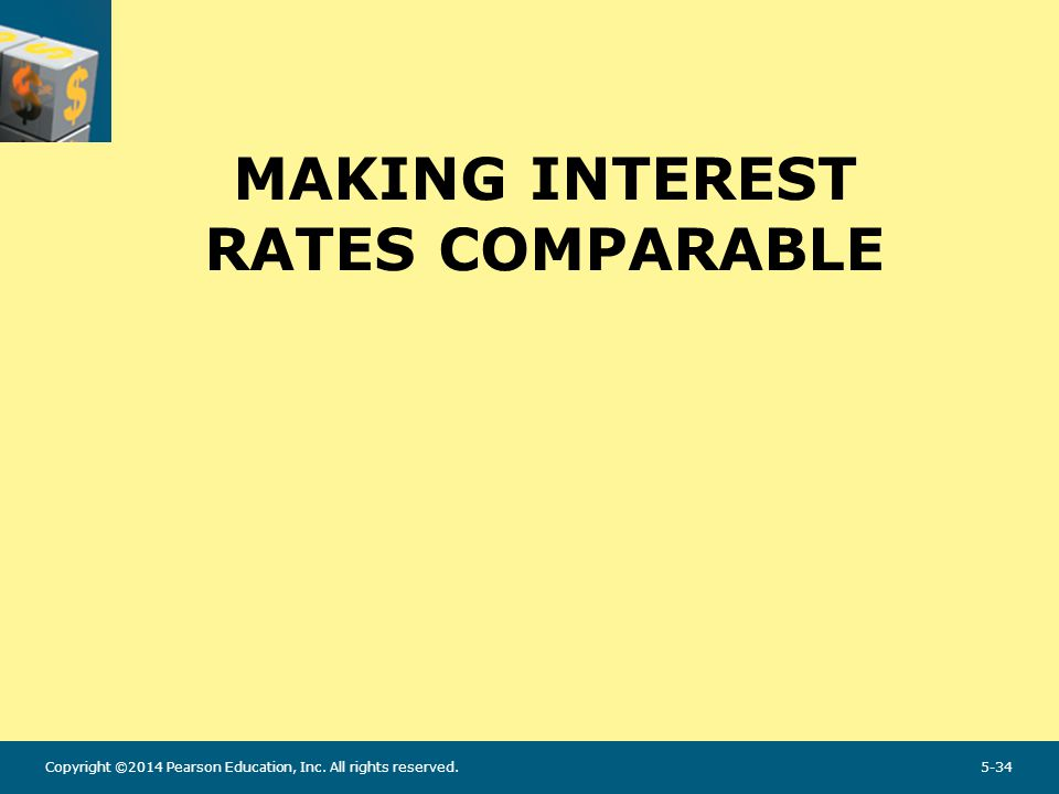 Making Interest Rates Comparable