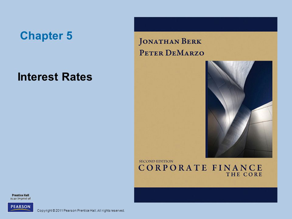 Chapter 5 Interest Rates