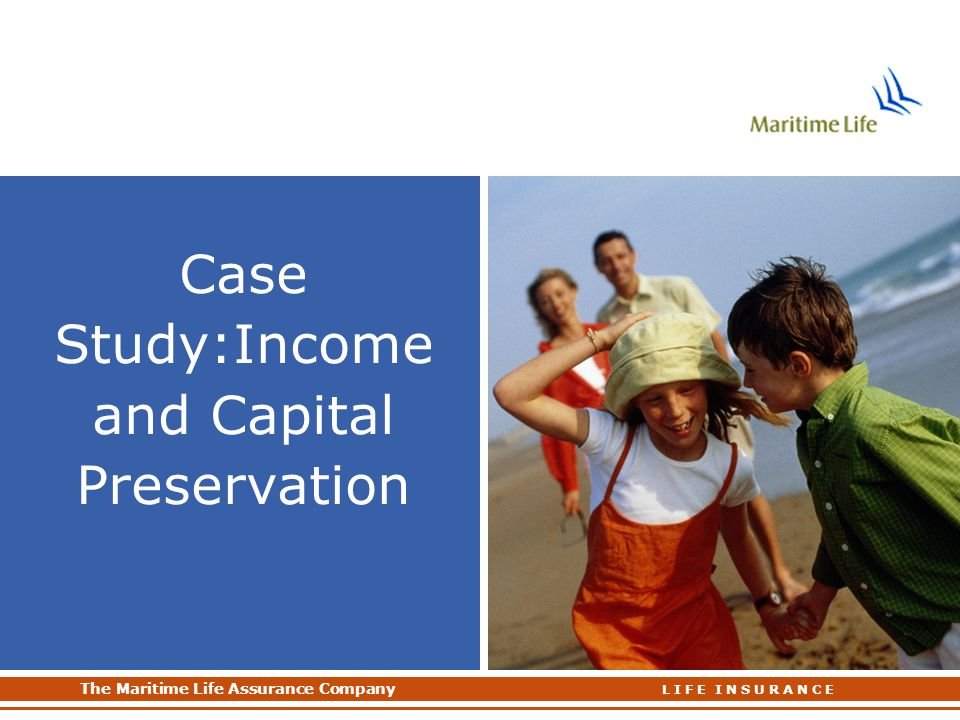 Case Study:Income and Capital Preservation